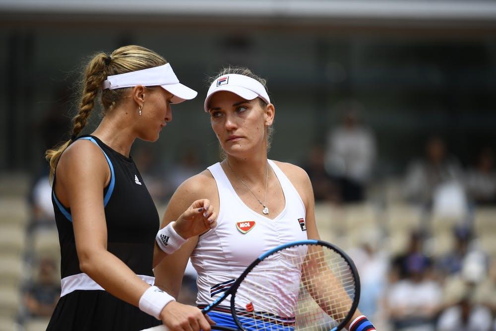 Kristina Mladenovic et Timea Babos