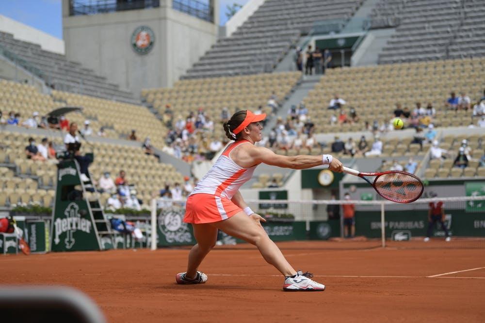 Tamara Zidansek, Roland-Garros 2021