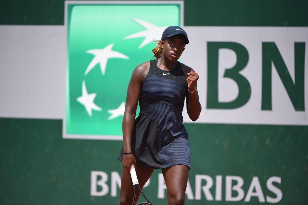 Clervie Ngounoue, Roland-Garros 2021, girls' singles first round