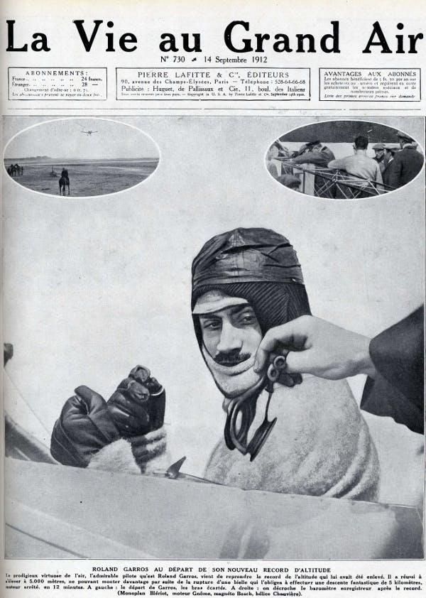 Roland Garros aviateur champion des champion