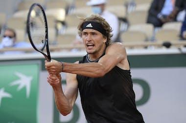Alexander Zverev, Roland Garros 2021, quarter-finals