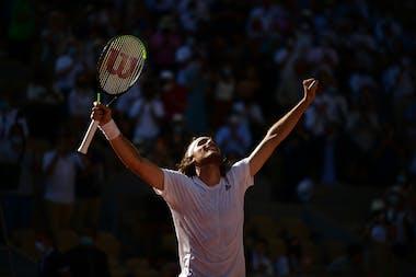 Stefanos Tsitsipas, Roland Garros 2021, semi-final