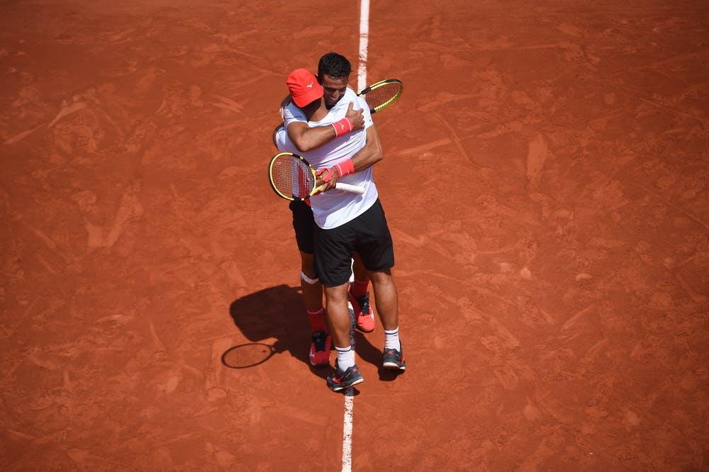 Robert Farah, Juan Sebastian Cabal, Roland Garros 2021, men's doubles quarter-finals