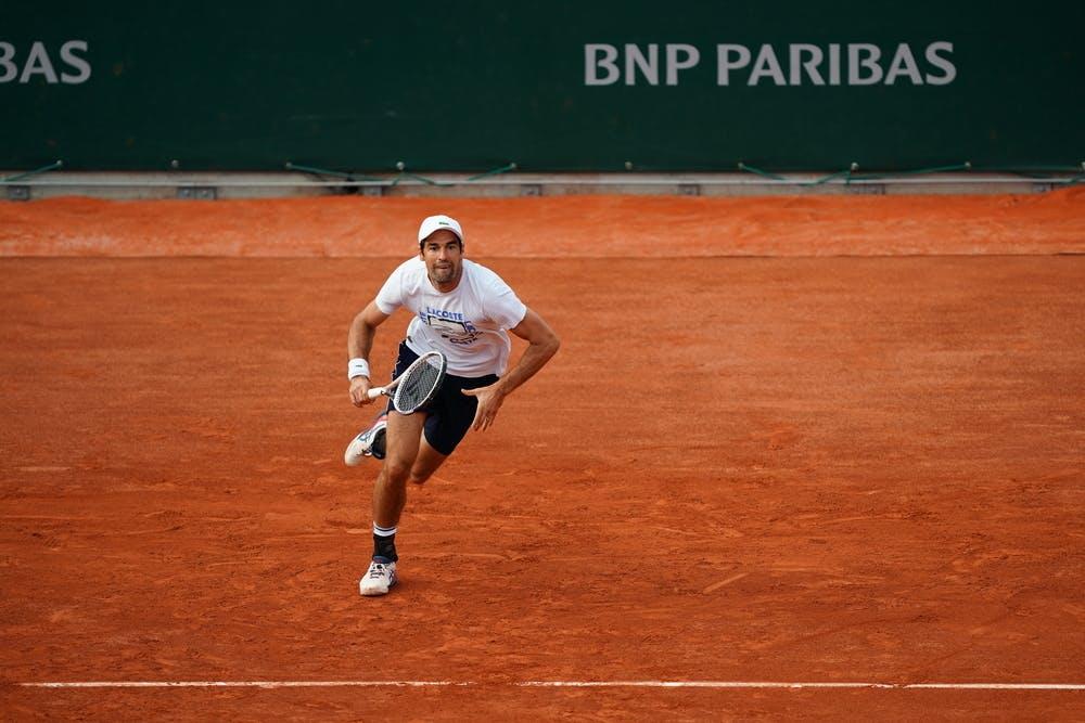 Jérémy Chardy Roland-Garros 2021