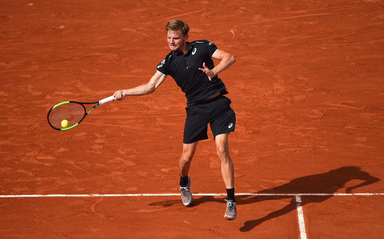 Roland-Garros 2018, David Goffin