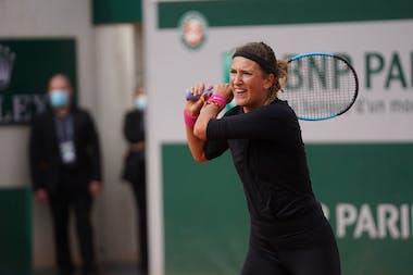 Victoria Azarenka, Roland-Garros 2020, practice