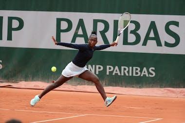 Oceane Babel, Roland Garros 2020, juniors second round