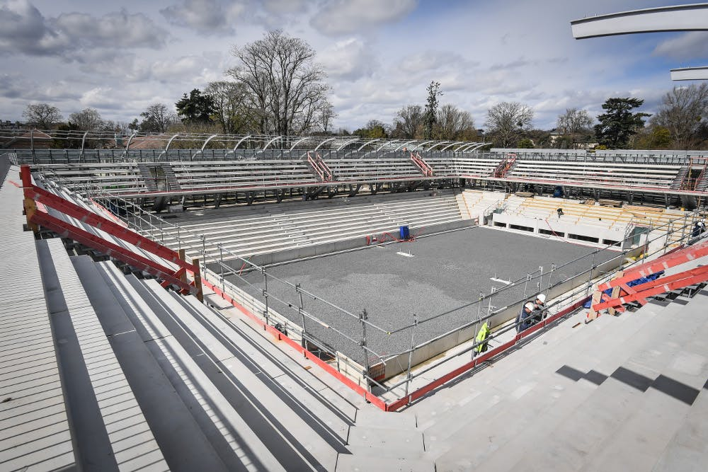stade Roland-Garros 2018 court Simonne-Mathieu / Roland-Garros stadium 2018 Simonne-Mathieu court.