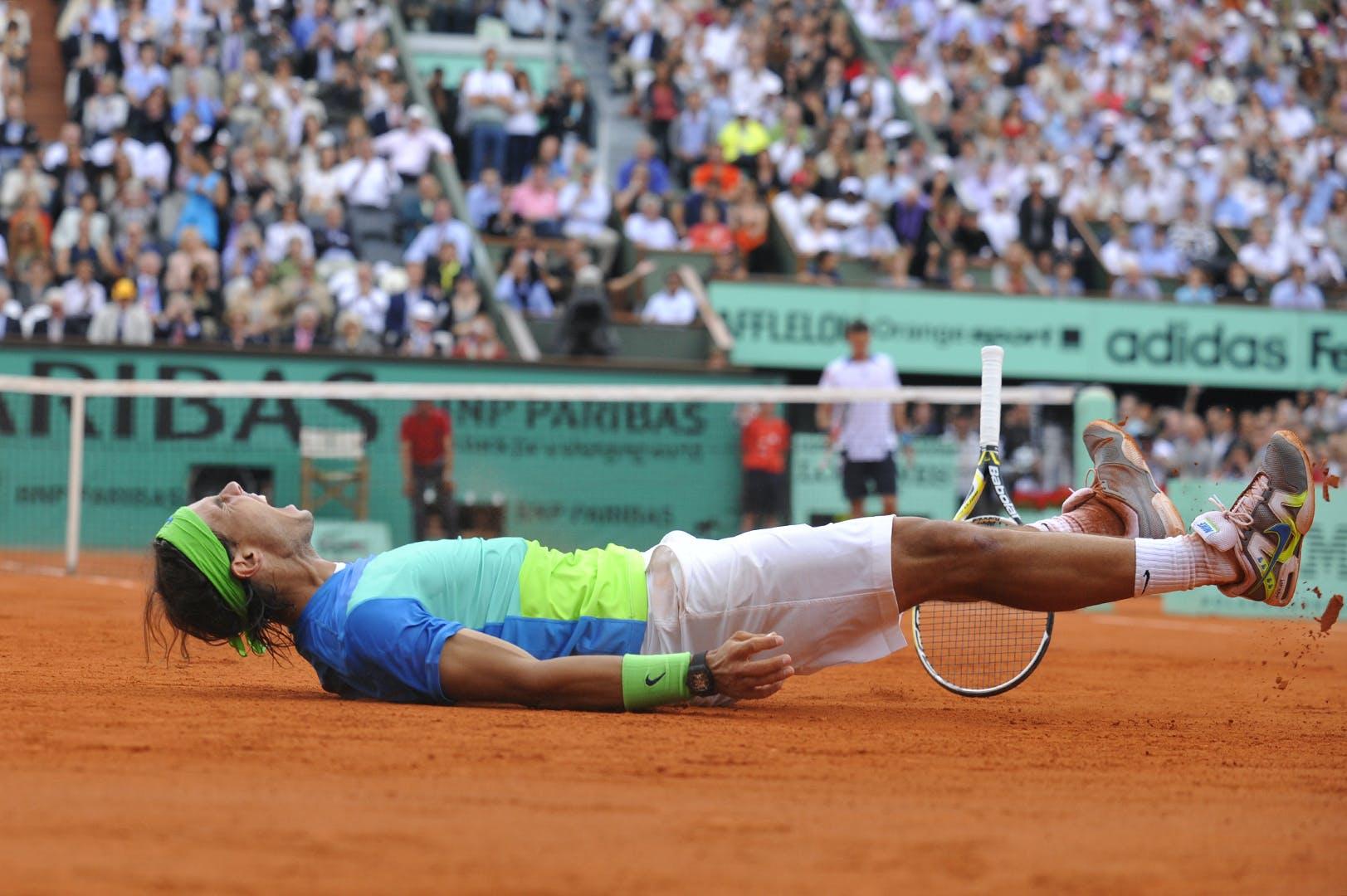Victoire Rafael Nadal Roland-Garros 2010