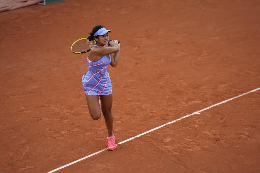 Alexandra Eala, Roland Garros 2020, junior semi-finals
