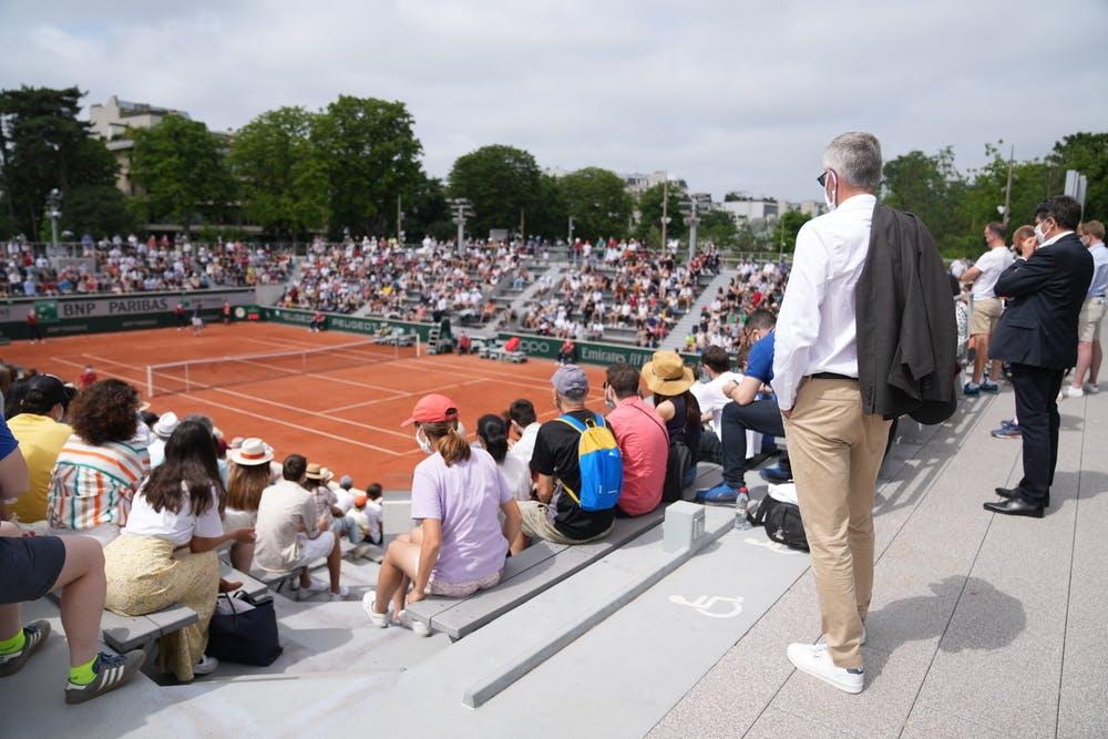 Gilles Moretton, Arthur Fils, Luca Van Assche, Roland-Garros 2021, boys' singles final