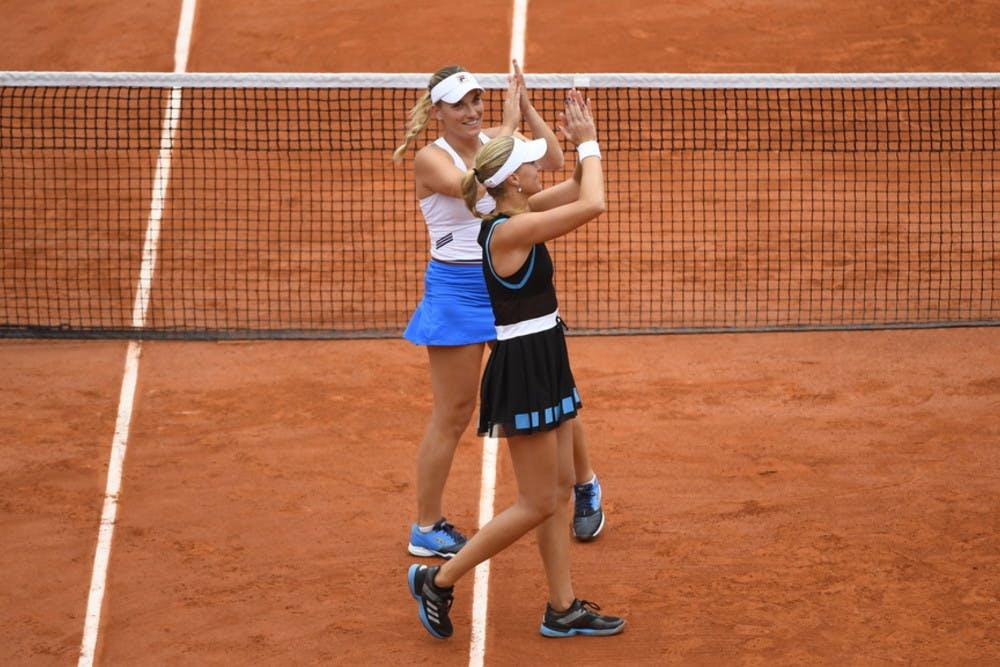 Kristina Mladenovic - Timea Babos - Roland-Garros 2019 - finale double dames
