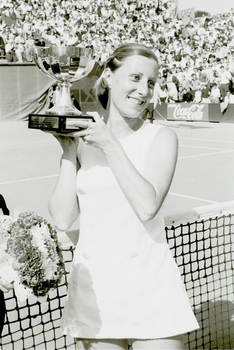 Françoise Dürr championne de Roland-Garros 1967 / Françoise Dürr French Open 1967 champion