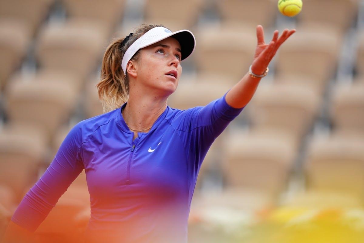 Elina Svitolina, Roland Garros 2020, first round