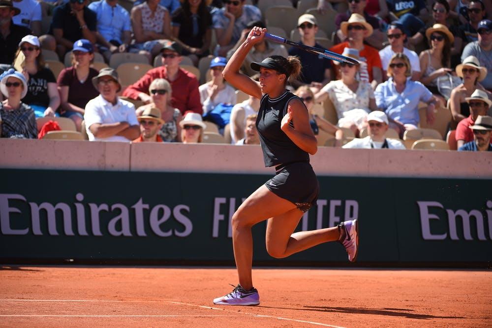 Madison Keys third round Roland Garros 2019