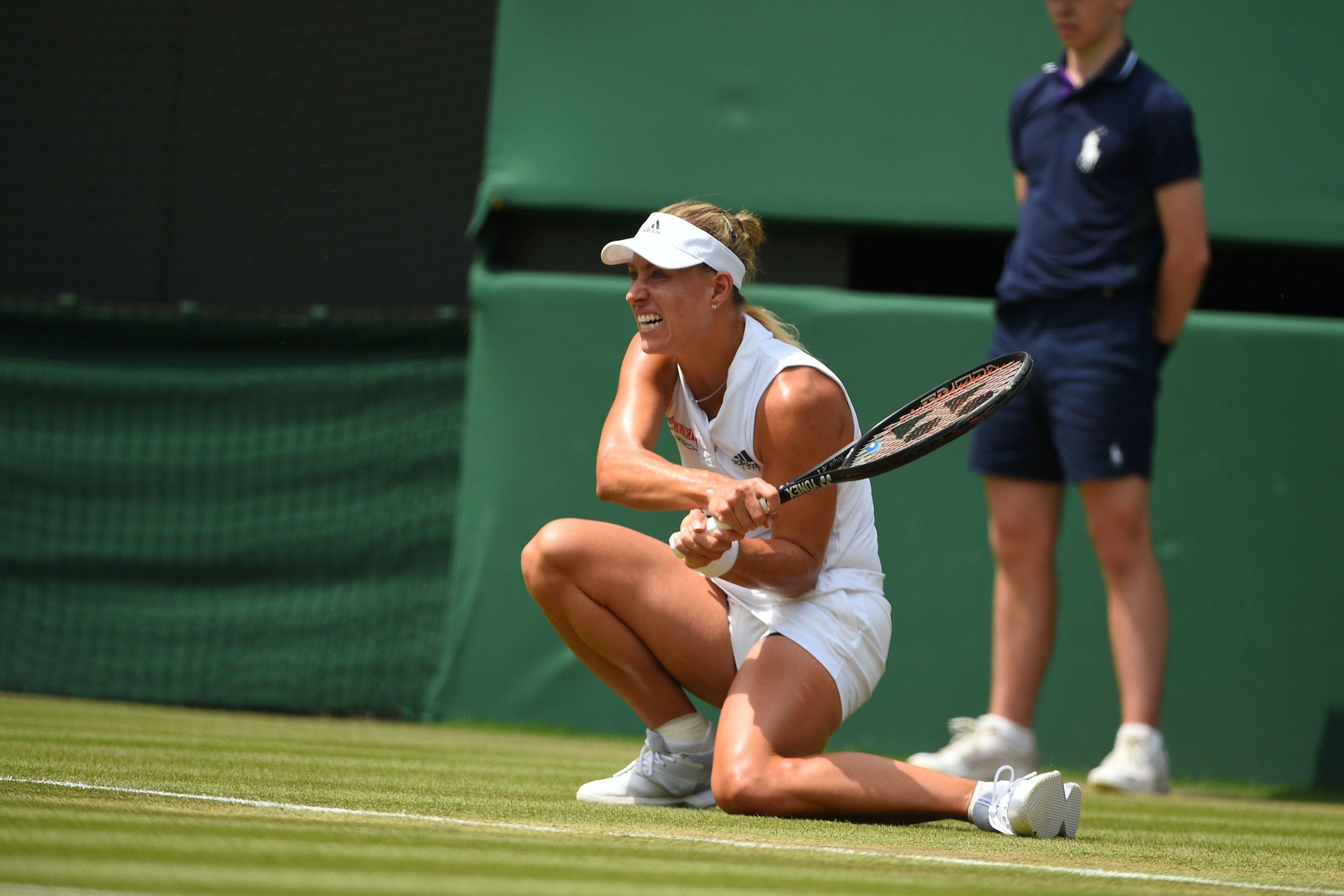 Angelique Kerber defeats Belinda Bencic in Wimbledon 2018