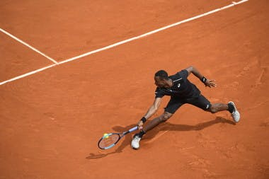 Gael Monfils, Roland Garros 2018, Simple Messieurs, 1er Tour