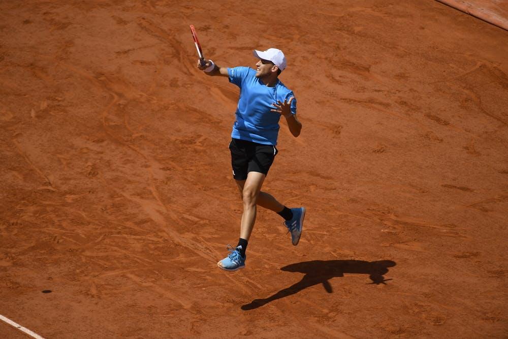 Dominic Thiem Roland Garros 2019 quarter-final
