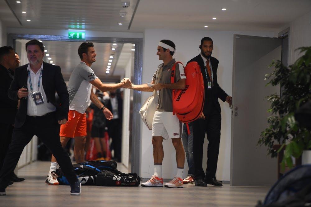 Roland-Garros 2019 - Federer - Wawrinka