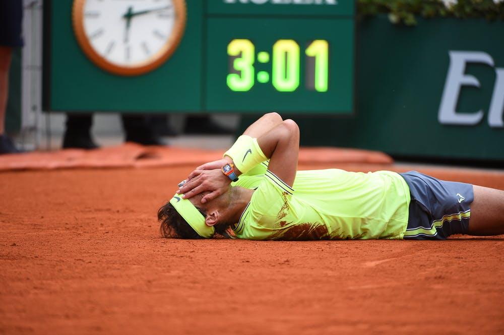 Rafael Nadal - Roland-Garros 2019 - finale - temps