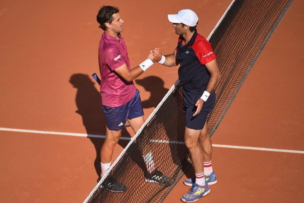 Dominic Thiem, Pablo Andujar, Roland-Garros 2021