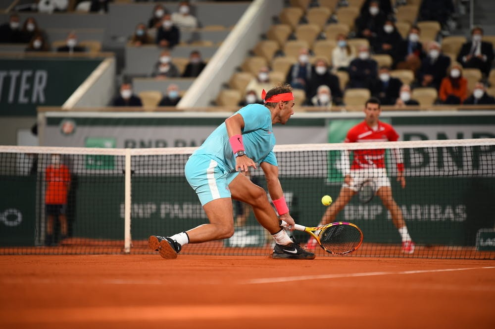 Rafael Nadal Novak Djokovic Roland Garros 2021