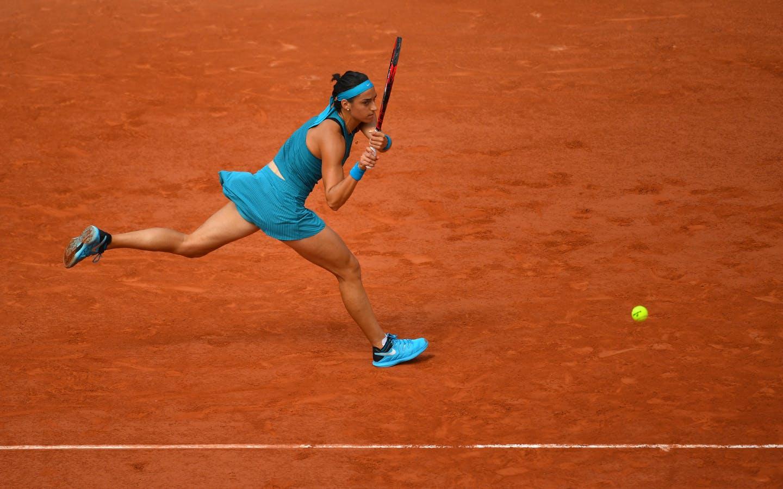 Caroline Garcia, Roland-Garros, 8è de finale