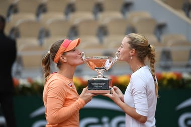 Kristina Mladenovic, Timea Babos, Roland-Garros 2020, Finale