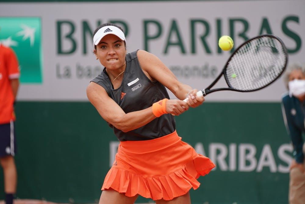 Elena-Gabriela Ruse, Roland-Garros 2020, qualifying first round.
