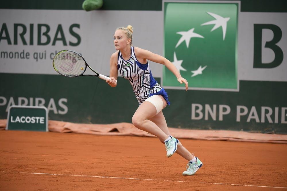 Polina Kudermetova, Roland Garros 2020, junior semi-finals