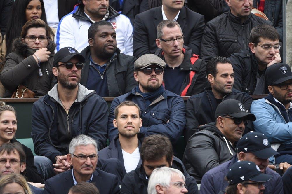 Leonardo Di Caprio, Roland-Garros 2016.