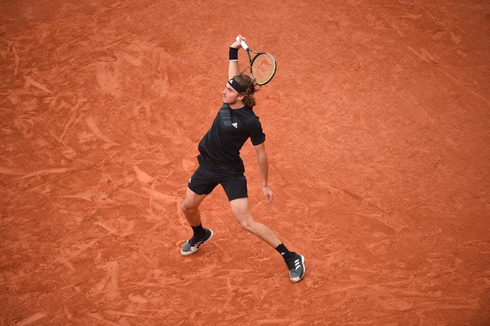 Stefanos Tsitsipas, Roland Garros 2020, third round