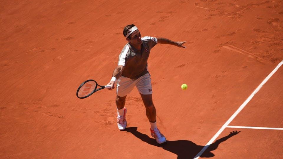 Roger Federer - Roland-Garros 2019 - huitièmes de finale