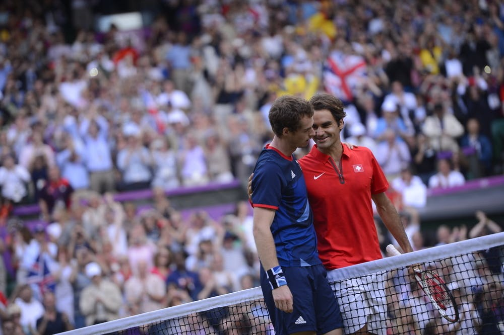 Murray Federer Jeux Olympiques 2012