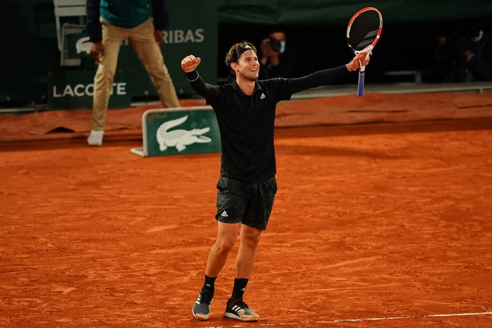 Dominic Thiem, Roland-Garros 2020, huitièmes de finale,