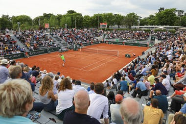 Atmosphere at Roland-Garros 2019