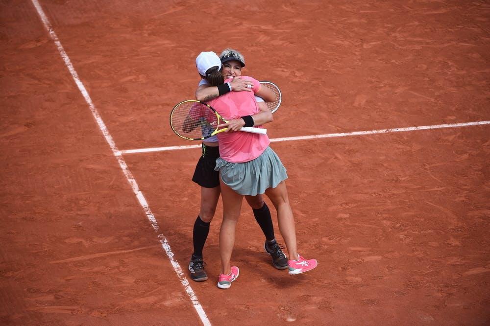 Iga Swiatek & Bethanie Mattek-Sands / Demi-finale Roland-Garros 2021