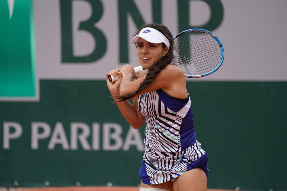 Maria Camila Osorio Serrano, Roland Garros qualifying 2020