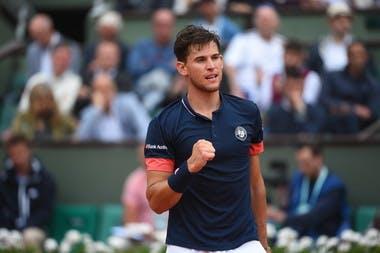 Dominic Thiem quart de finale Roland-Garros 2018