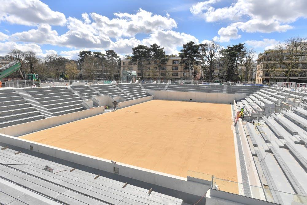 stade Roland-Garros 2018 court 18 / Roland-Garros stadium 2018 court 18.