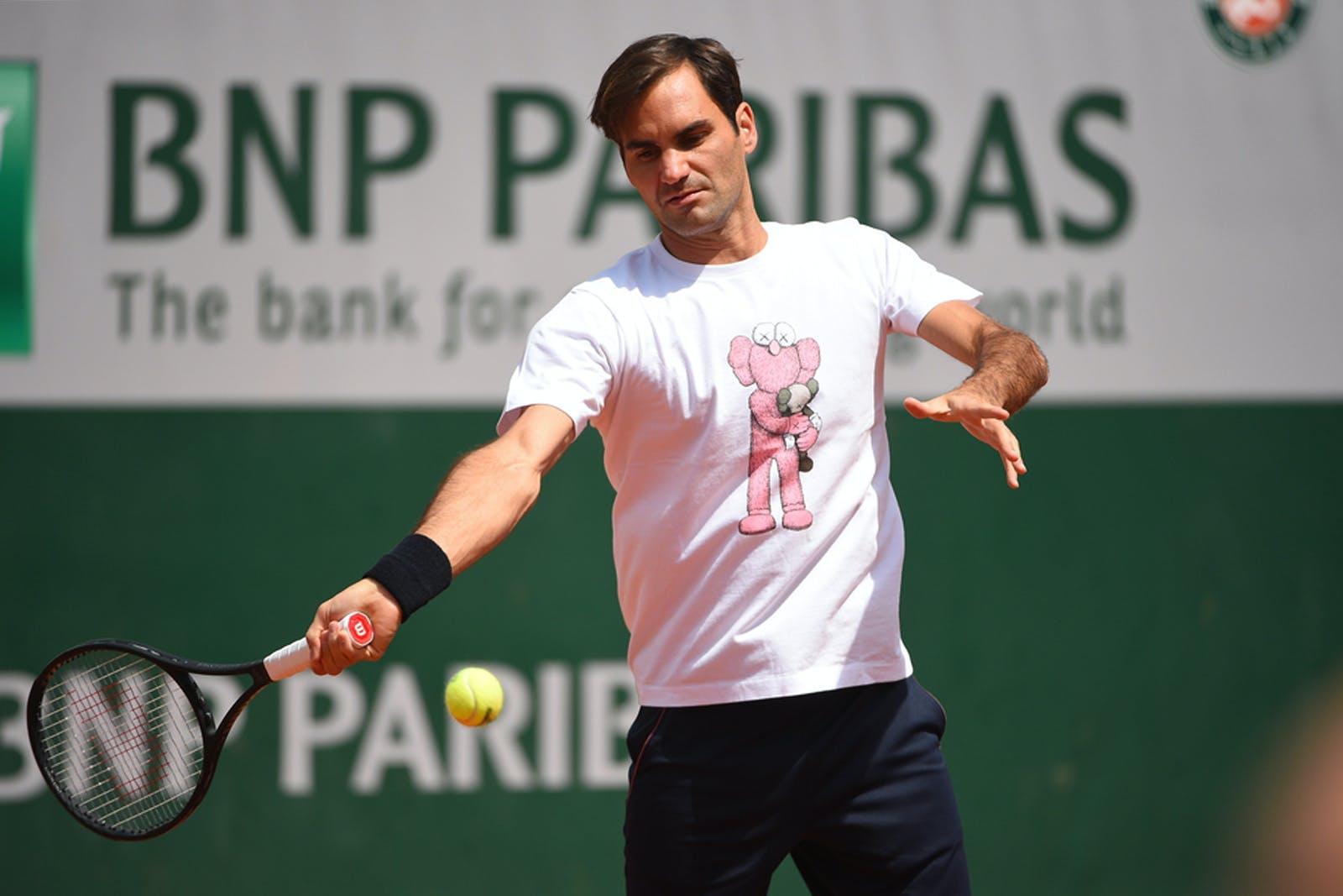 Roger Federer Roland Garros 2019