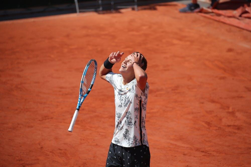 Holger Vitus Nodskov Rune winning Roland-Garros 2019 juniors