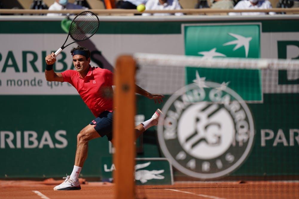 Roger Federer, Roland Garros 2021, first round