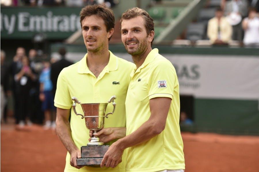 Julien Benneteau Edouard Roger-Vasselin Roland-Garros men's doubles champions 2014 / double messieurs.
