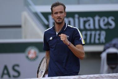 Daniil Medvedev, Roland-Garros 2021, fourth round