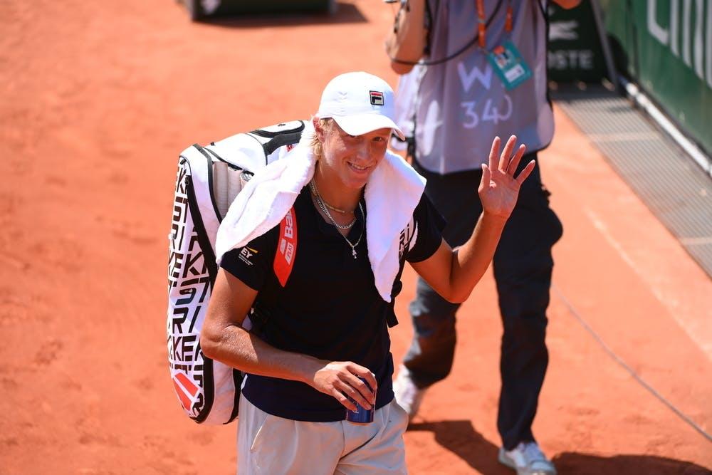 Leo Borg, Roland-Garros 2021 junior first round