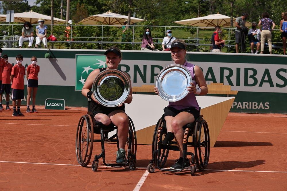 Anik Diede de Groot Aniek Van Koot Roland Garros 2021