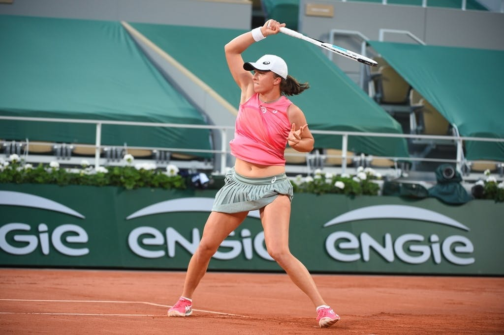 Iga Swiatek, Roland Garros 2021, fourth round