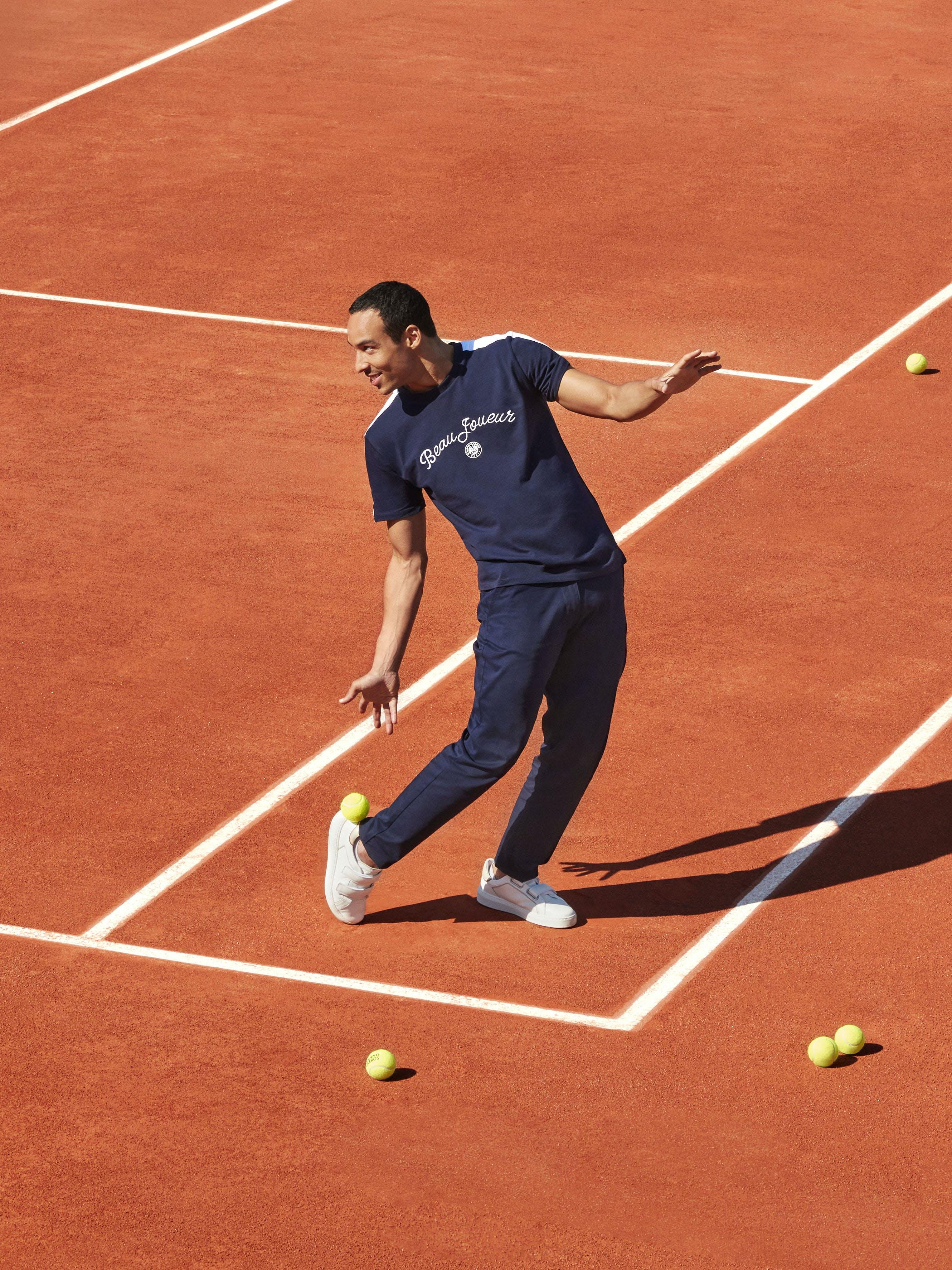 Griffe Roland-Garros 2021 Ligne Beau Joueur Galeries Lafayette