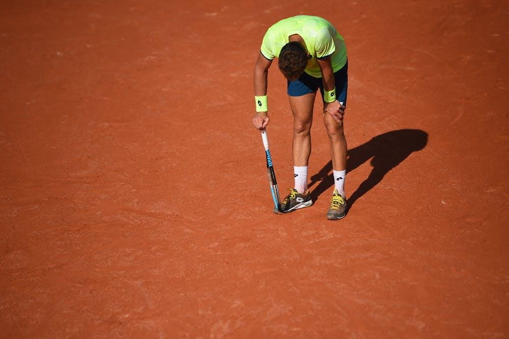 Mathias Bourgue, Roland Garros 2020, qualifying first round